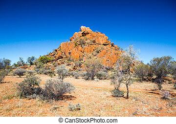 outback, landschaftsbild