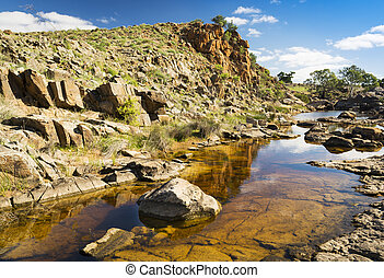 Outback Oasis - A beautiful oasis in rural outback Australia