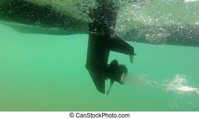 Outboard boat motor