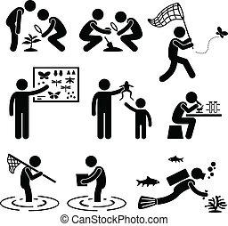 outdoor aktivitet, geolog, forskning
