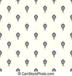 Outdoor asian lantern pattern seamless vector