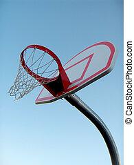outdoor basket ball hoop