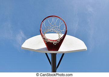 Outdoor Basketball Hoop and Backboard