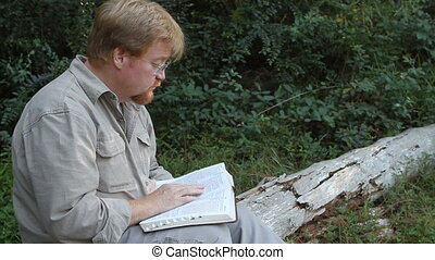 Outdoor Bible Reading