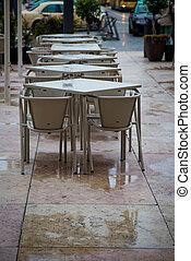 outdoor cafe lisbon