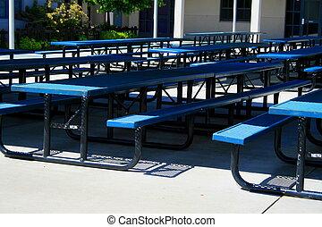 Outdoor Cafeteria