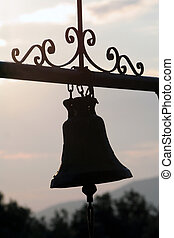 Outdoor chapel bell ...