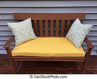 Outdoor Deck Bench