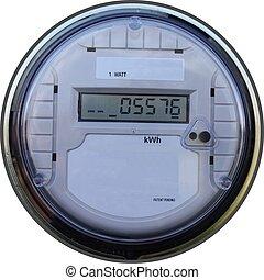 Outdoor digital meter - Outdoors digital household meter for...