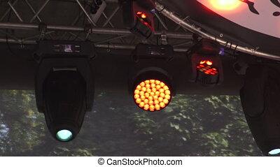 Outdoor floodlight for backlight. 4K. - Outdoor floodlight...