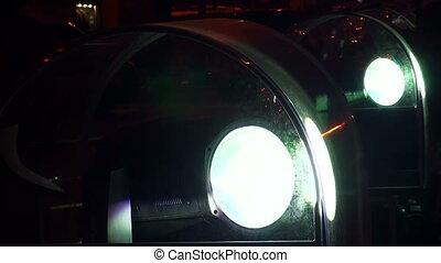 Outdoor floodlight for backlight