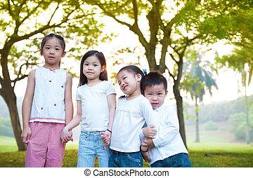 Outdoor fun children