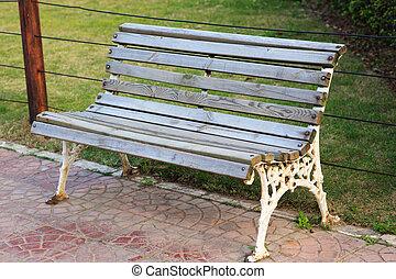 Outdoor open seat