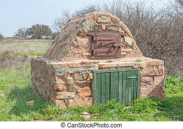 Outdoor oven at Matjiesfontein near Nieuwoudtville