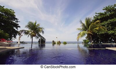 Outdoor pool in the hotel. - Luxury hotel, resort near at ...