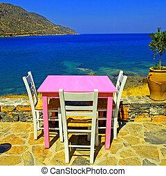 outdoor restaurant in Greece - Outdoor restaurant - ...