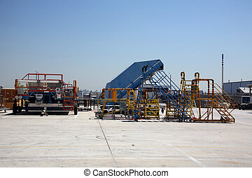 Outdoor Shipping Area - Shipping Area of Aerospace Plant...