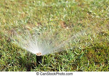 Outdoor sprinkler