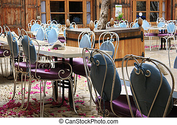 Outdoor Tables, Jbeil, Lebanon