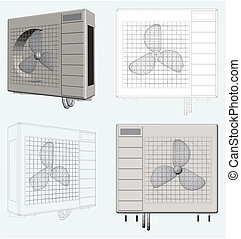 Outdoor Unit of Air Conditioner