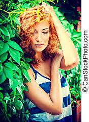 outdoors girl