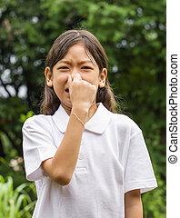 Asian young girl