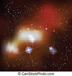 Outer Space Supernova