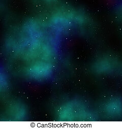 Outerspace sky - Space nebula starfield abstract...