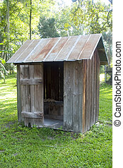 Outhouse - Old outhouse