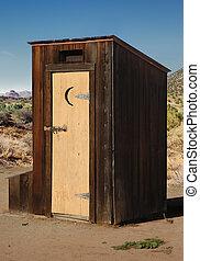 Outhouse in Arizona