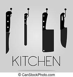 outillage, cuisine