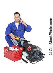 outils, électricien