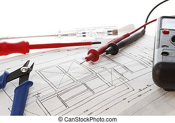 outils, électrique