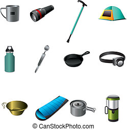 outils, camping