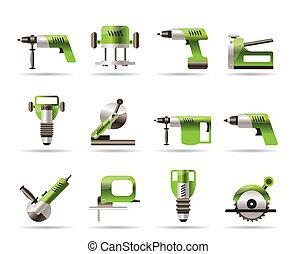 outils, construction, bâtiment