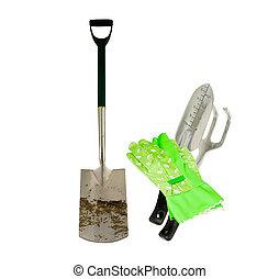 outils, jardin, fonctionnement