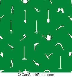 outils jardinage, eps10, modèle