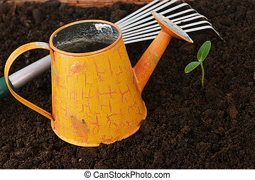 outils, jardinage