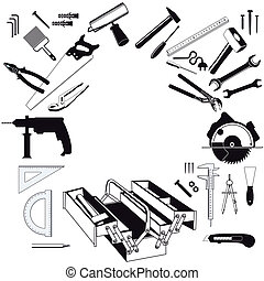 outils, main