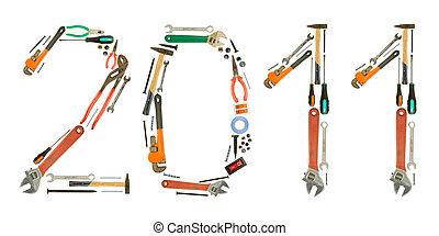 outils, nombres