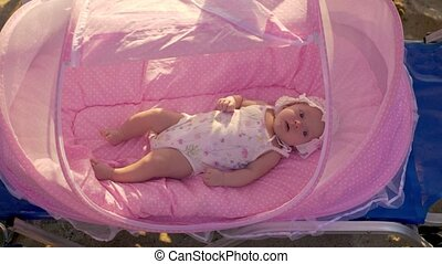 Outing with baby at the beach