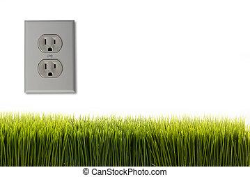 outlet., électrique