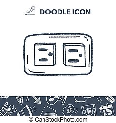 outlet doodle