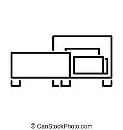 Outline Bed Icon - msidiqf