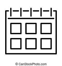 Outline Calendar Icon - msidiqf