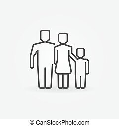 Outline family icon