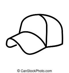 Outline Hat Icon - msidiqf