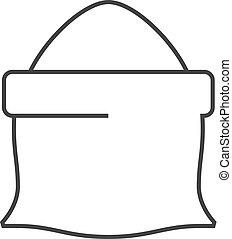 Outline icon - Flour sack