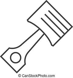 Outline icon - PIston