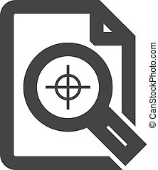 Outline Icon - Printing quality control
